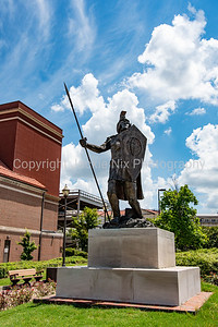 Troy Trojan statue on Montgomery campus