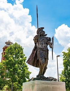 Troy trojan statue