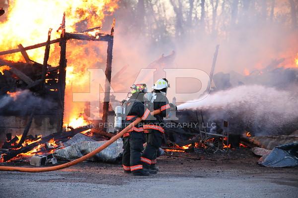 Structure Fire 1097 Sacandaga Rd 5-20-2019