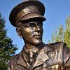 Wilfred Owen statue, Cae Glas Park, Oswestry.