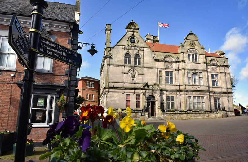 Oswestry Town Council building at Bailey Head.