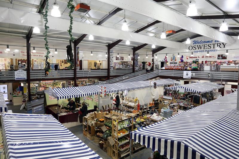 Oswestry Market.