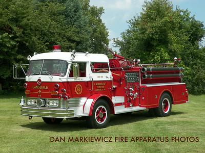 FAIRMOUNT FIRE CO. LANSDALE 1964 MACK C PUMPER PRIVATELY OWNED BY SCOTT SEIFERT