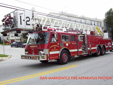 HARMONVILLE FIRE CO. TOWER 44 1991 SIMON/LTI TOWER LADDER