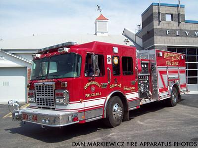 HARMONVILLE FIRE CO. SQUAD 44 2009 SPARTAN/FERRARA ENGINE-RESCUE