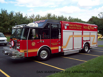 KING OF PRUSSIA VOLUNTEER FIRE CO. RESCUE 47 2005 E-ONE HEAVY RESCUE