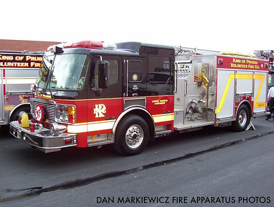 KING OF PRUSSIA VOLUNTEER FIRE CO. ENGINE 47-2 2003 AMERICAN LA FRANCE PUMPER