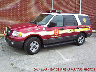 SWEDESBURG VOLUNTEER FIRE CO. CAR 49 2005 FORD OIC UNIT