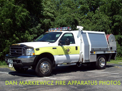 BLACK ROCK FIRE & RESCUE OAKS STATION TAC 99 2003 FORD/MARSH BRUSH UNIT