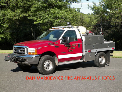 WORCESTER TWP. FIRE DEPT. FIELD 83 1999 FORD/WTFD BRUSH UNIT