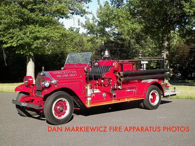 WORCESTER TWP. FIRE DEPT. ANTIQUE 1932 HALE PUMPER