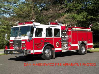 WORCESTER TWP. FIRE DEPT. ENGINE 83 1994 E-ONE PUMPER