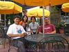 Ted, me, Tiana, and Hugh at D'Amico's Italian Market Cafe.