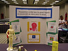 My health fair display at the George R. Brown Convention Center.