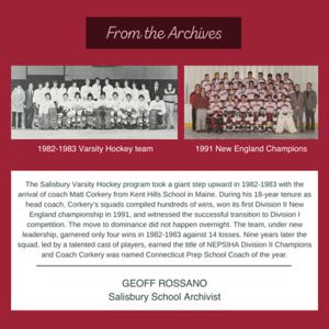 Archives post: Corkery Hockey
