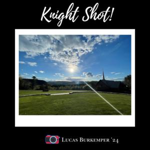 Knight Shot! Lucas Burkemper '24