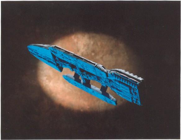 galactica blue belly