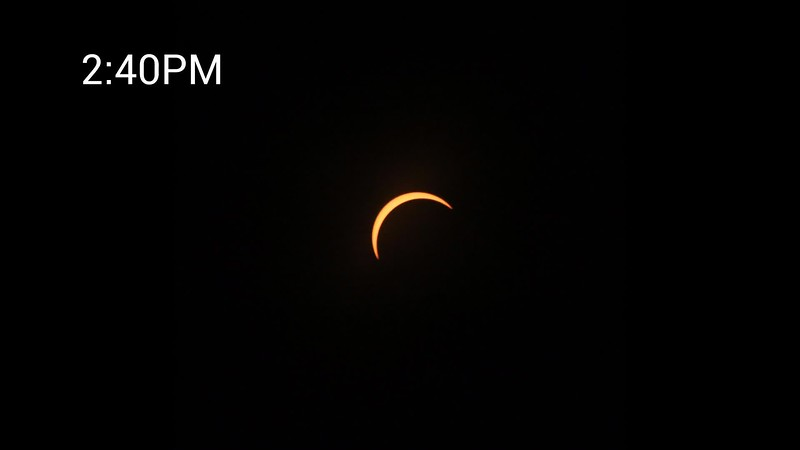 2017 Solar Eclipse Raleigh 93 Percent