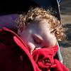 Bethan sleeps in Hyde Park