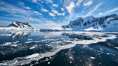 Peter Bond - Antarctic Ice Floe
