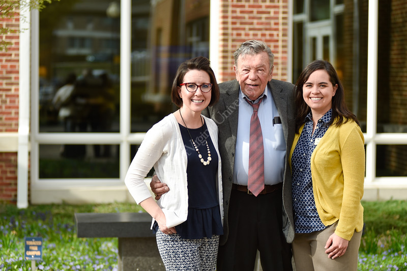 Students were recognized for their academic achievements and donors were recognized for their generous assistance at the Erikson Alumni Center on April 11, 2019. The event was followed by a banquet where students could express their thanks to the donors.