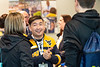 Prospective WVU  students and their parents talk with VRC staff visiting the WVU VRC April 15, 2019. Photo Greg Ellis