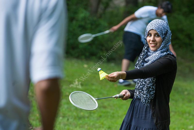 Mariam Farag of Libya.  Spouse of Mohamed Benzeglam