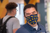 WVU Chambers College of Business and Economics Dean Javier Reyes Ph.D. poses for a photo in the WVU Mountainlair as Freshmen students attend the first day of classes during the Covid-19 pandemic August 26, 2020. (WVU Photo/Greg Ellis)