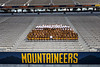 The 2021-2022 WVU Football team poses for photographs at the Football Stadium, August 21st, 2021. (WVU Photo/Brian Persinger)