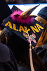 Alayna Fuller shares her pride along with other WVU graduates from the Eberly College of Arts and Science and the John Chambers College of Business and Economics as they convene with their families and faculty for the December 2018 Commencement at the WVU Coliseum , December 12, 2018. Photo Greg Ellis