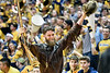 Troy Clemons to serve as Mountaineer Mascot for a second year.  Photo Greg Ellis