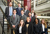 The finalists from the Business Plan Competition. Semifinalists compete in the Business Plan Competition Semifinals at the Falcon Center in Fairmont, WV on January 31, 2020. (WVU Photo/Parker Sheppard)