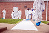 Students participate in the Forensic Summer Camp offered at the Crime Scene House complex on the Evansdale Campus June 22nd, 2017.  Photo Brian Persinger