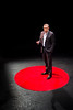 Ali Rezai, an associate Dean of the WVU Rockefeller Neuroscience Institute at West Virginia University, speaking at the second annual TEDx Talk at the Davis Theatre on March 2, 2019.
