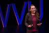 Emma Harrison, a West Virginia native and current student of WVU, speaks on the behalf of incarcerated individuals. The second annual TEDx Talk took place at the Davis Theatre on March 2, 2019.