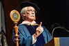 WVU CAC May Graduates enjoy the actives of graduation at the WVU CAC as Jay Chattaway HDOC recipient address the graduates, May 10, 2019. Photo Greg Ellis