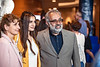 Jana El-Khatib poses with her parents Hana and Hussein for a photograph prior to the Honors College Medallion Ceremony at the CAC May 9th, 2019.  Photo Brian Persinger