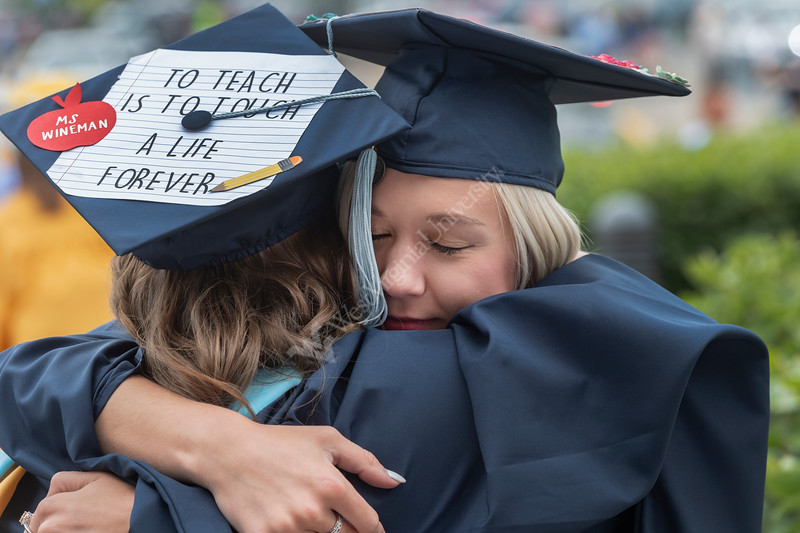 CEHS May Commencement brings graduating students, faculty and families together to celebrate graduation at the WVU Coliseum. May 11, 2019. Photo Greg Ellis