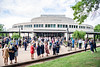 Families and graduates pose for photographs after the School of Public Health Commencement outside the CAC May 10th, 2019.  Photo Brian Persinger