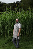 Mike Costello at Lost Creek Farm.<br /> 34546 WVU Food Story<br /> WVU Photo/ Raymond Thompson<br /> WVU Magazine