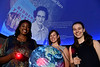"""Students and members of the WVU community enjoy the presentation """"Hidden Figures In The Stars"""" at the WVU Planetarium October 4, 2018. Photo Greg Ellis"""