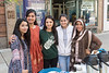 Students of the Pakistani Students Association take a moment to pose as a group during the annual International Street Fair on High Street in Morgantown on September 29, 2018.