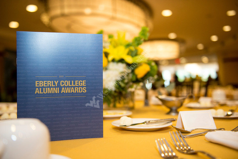 Photos taken at the Eberly Alumni Awards Banquet held on September 13, 2019. (Photo/Parker Sheppard)