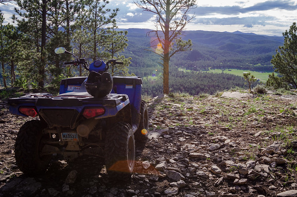 ATV At Nemo Overlook