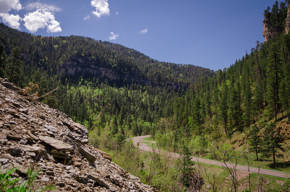 Spearfish Canyon Highway