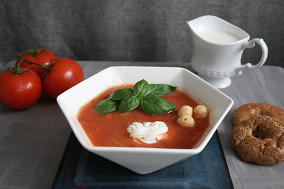 Joint 2nd Place - Red Tomato Soup by Agata Deren