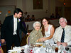 On 10/25/2008, Erin K. Coyle wed Jason Smith.  They reside in Blackwood N.J. Grandmother Jewell entertained all. From left, Jason, Jewell, Erin & Kevin Coyle, Erin's uncle.