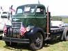 Vintage truck show