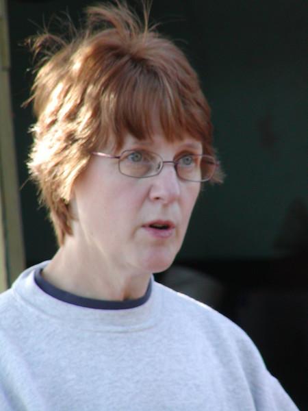 Joann Baldineli, our hostess. Thank You.