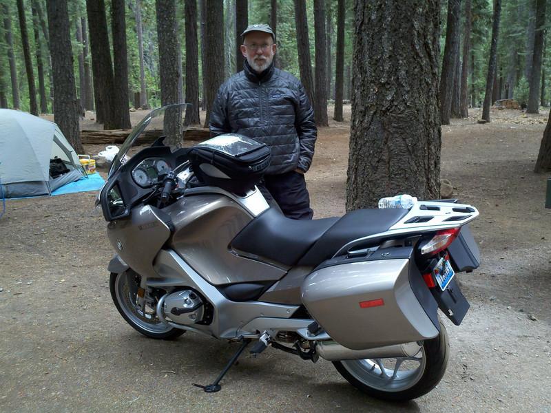Terry Burnes' New Bike. (Photo: Lee Blake)